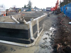 Foundation drain systems