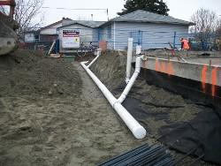 Rain water drain systems