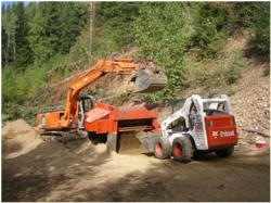 Screening Sand to meet Hydro Specifications